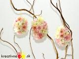 Veľkonočné vajíčko skvetinkami